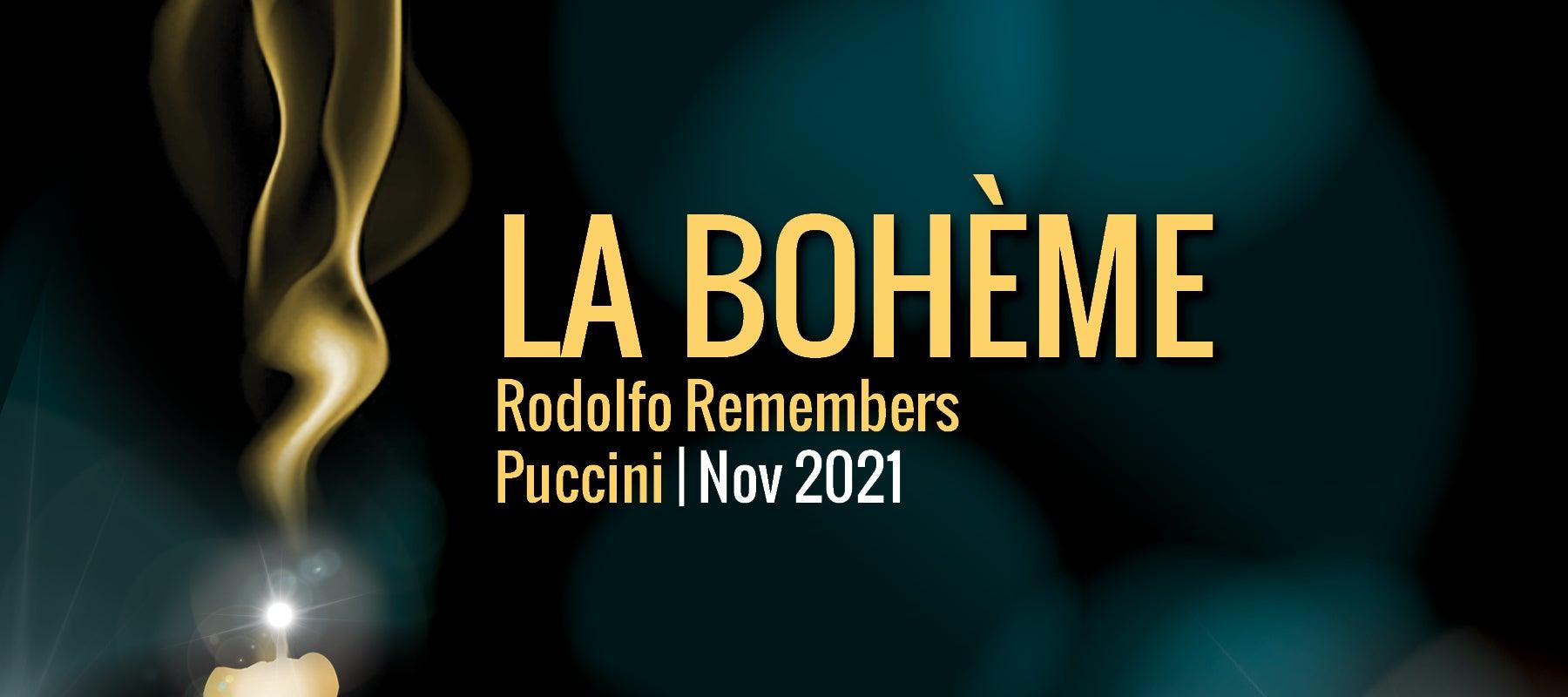 Virginia Opera presents La Bohème: Rodolfo Remembers