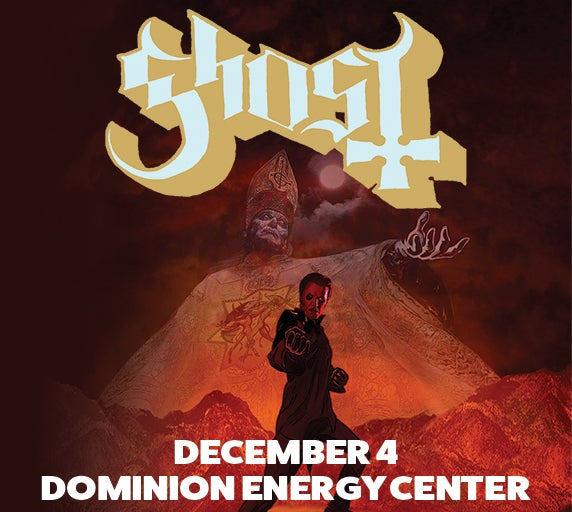 Ghost dominion energy center official website ghost m4hsunfo