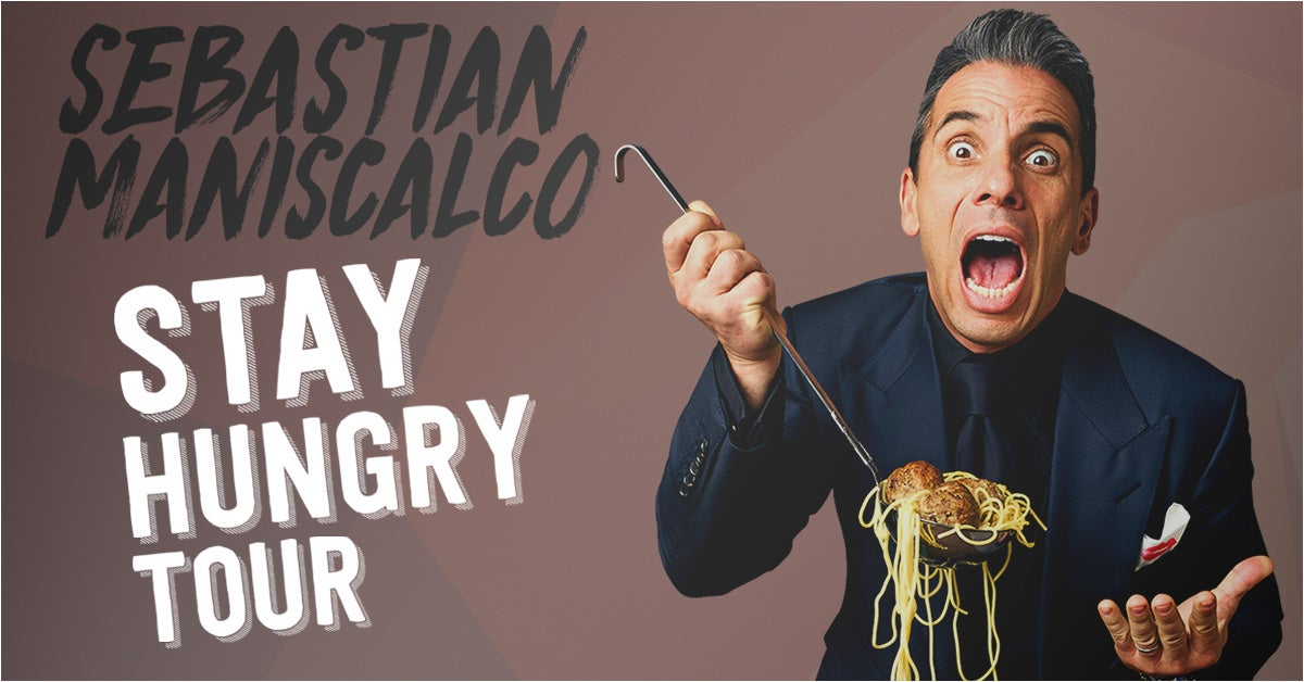 Sebastian Maniscalco | Dominion Energy Center | Official Website