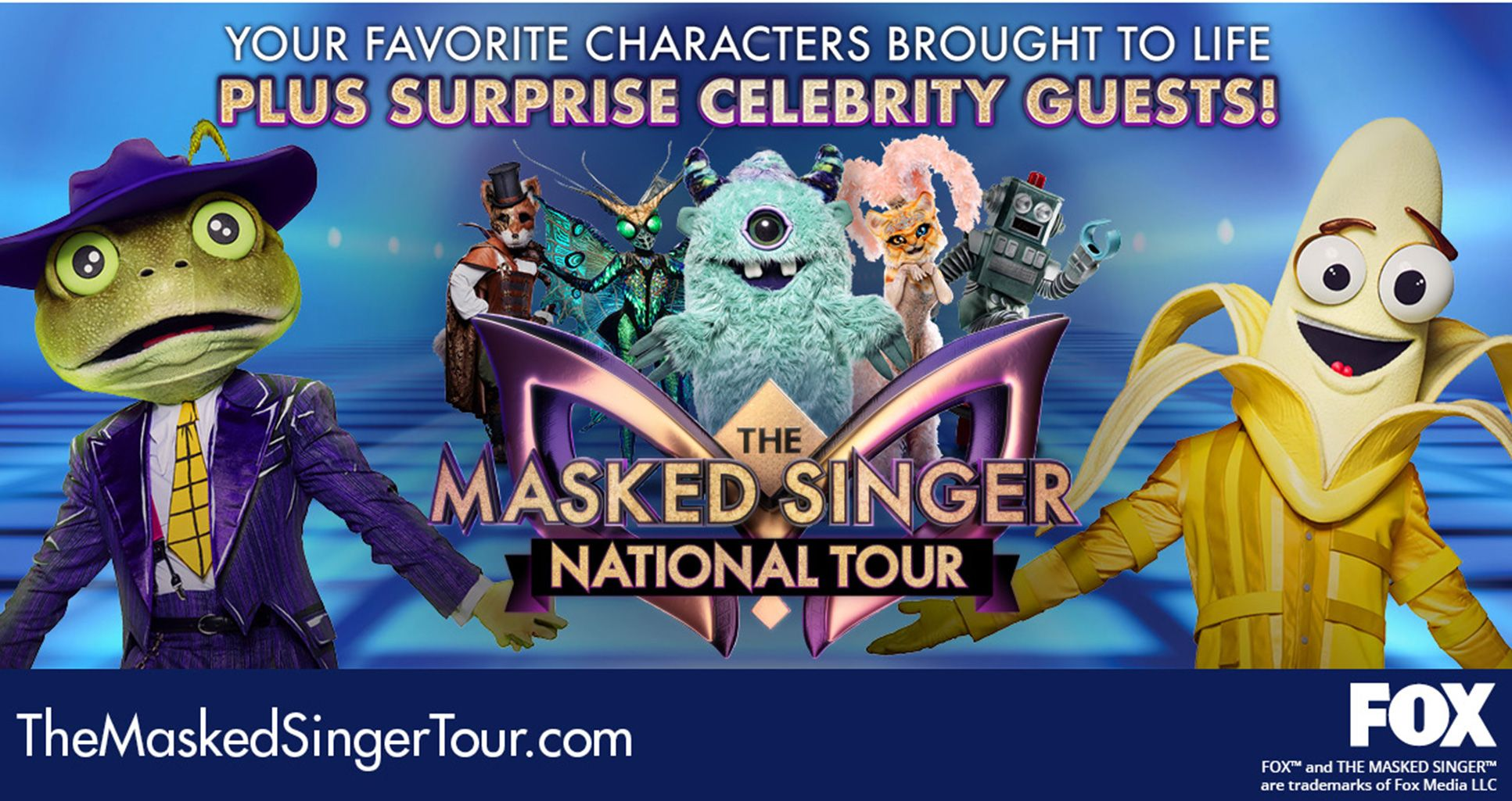 RESCHEDULED: The Masked Singer National Tour
