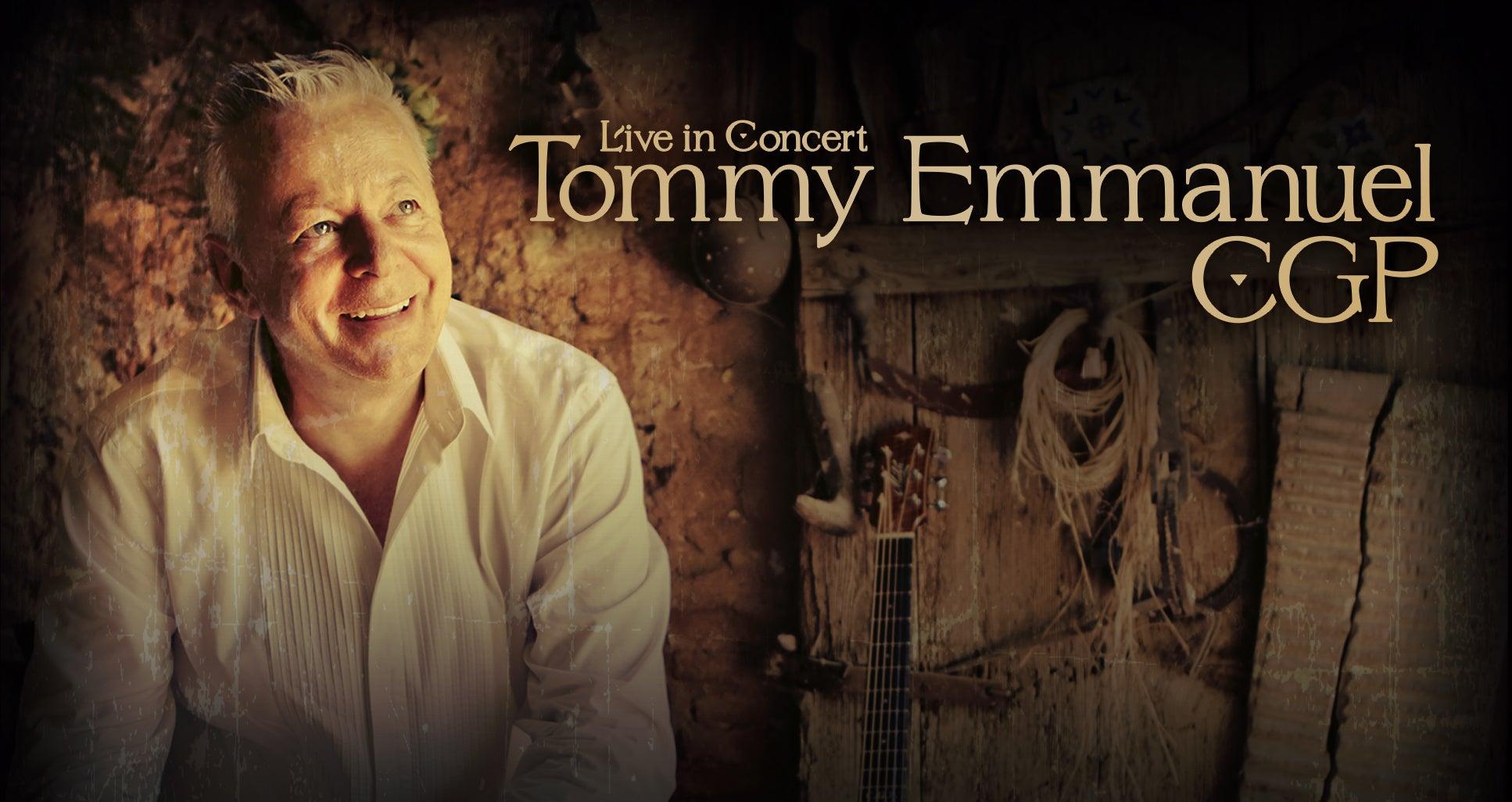 Tommy Emmanuel, CGP