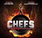 Coming to Dominion Energy Center: CHEFS - The Sizzling Kitchen Showdown on March 11