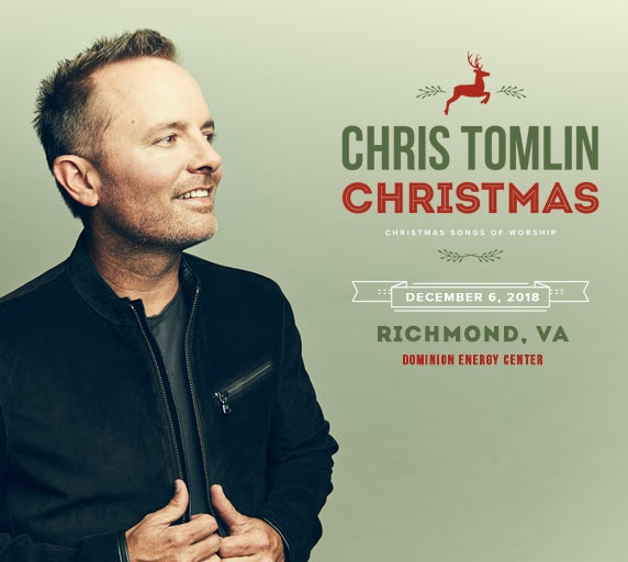 Chris Tomlin Christmas.Chris Tomlin Christmas Dominion Energy Center Official